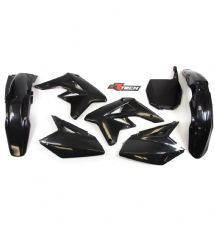 New RMZ 250 07-09 Racetech Plastic Kit Motocross Plastics Black